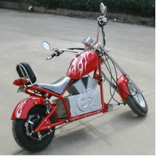 Электромотоцикл GreenCamel Chopper C100, 60V 1000W R12