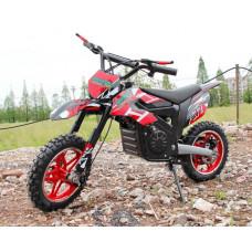 Электромотоцикл GreenCamel Питбайк DB100, 24V 500W R14 быстросъемная батарея