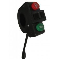 Панель управления поворотниками и сигналом для электросамоката Kugoo M4 PRO